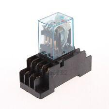 New DC12V Coil 4PDT Power Relay MY4NJ HH54P-L 14 Pin w PYF14A Socket Base