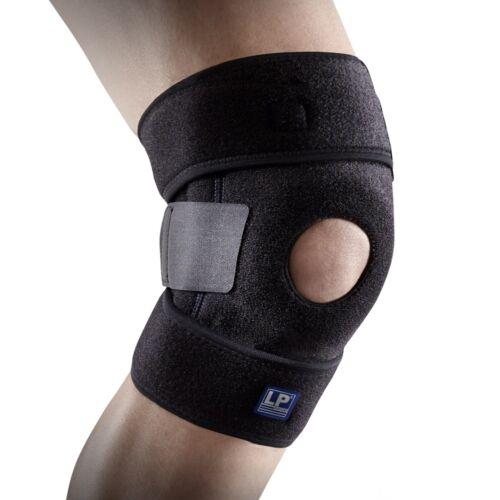 LP Support 733-KM atmungsaktive Kniebandage, Wickel-Knie-Bandage, Knie-Stütze