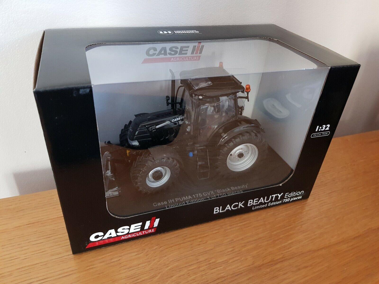 UH CASE IH Puma 175 CVX Tracteur édition limitée beauté noire échelle 1 32