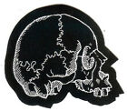 Skull Right Patch Death Metal Occult Halloween Reaper Zombie Day Of The Dead