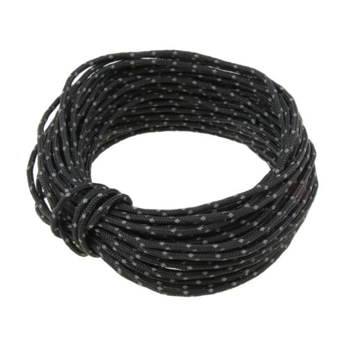 Reflective Nylon Cord Tent Guyline Rope for Camping Tent Awning Canopy Tarp