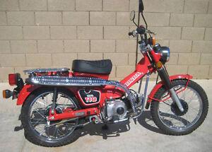 honda ct110 postie bike 1983 1986 factory workshop service repair rh ebay com au Honda CT90 1981 1986 Honda CT110 Parts