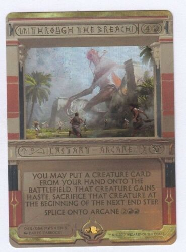 Through the Breach MTG Magic the Gathering Masterpiece: Invocations Foil