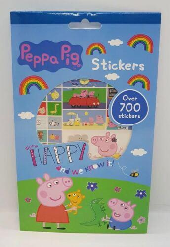 Kids Cadeau plus de 700 Autocollants Peppa Pig//La vie secrète des animaux de compagnie//congelés//disnep P
