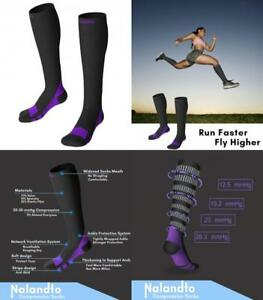 8fed887a87 Compression Socks 20-30mmHg for Men & Women, Graduated Stockings ...