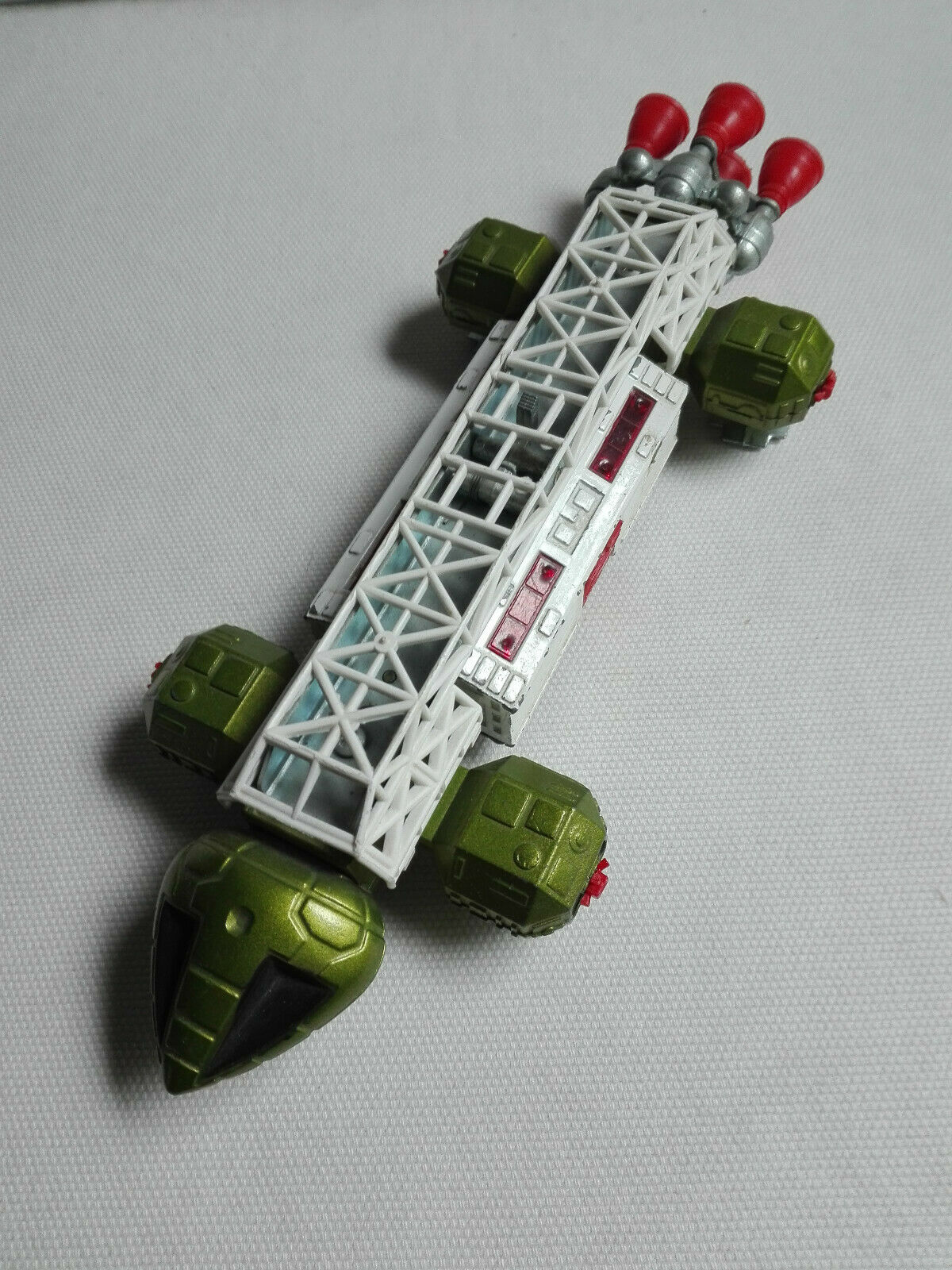 VINTAGE DINKY TOYS green/white EAGLE FREIGHTER TRANSPORTER SPACE 1999 G.ANDERSON