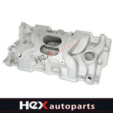 Intake Manifold Sbc Small Block For Chevy 350 383 305 327 Aluminum Dual Plane