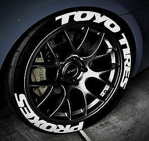 TOYO TIRES PROXES Designer Rubber Tyre Graphic kits