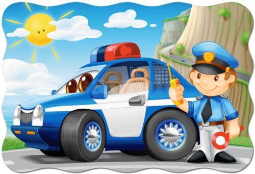 Polizei Auto Polizist Eßbar Tortenaufleger Party Deko Geburtstag Tortenbild Neu
