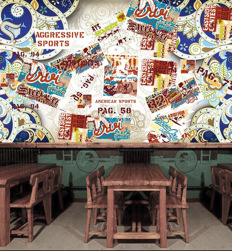 3D Fleur Mer 52 Photo Papier Peint en Autocollant Murale Plafond Chambre Art