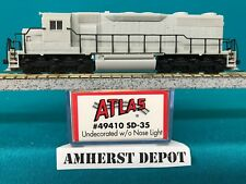 49410 Undecorated W/o Nose Light Atlas N Scale Sd-35 DCC Ready