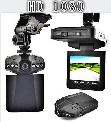 "Hot Black 2.5"" Full HD 1080P Car DVR Vehicle Camera Video Recorder Dash Cam DP"
