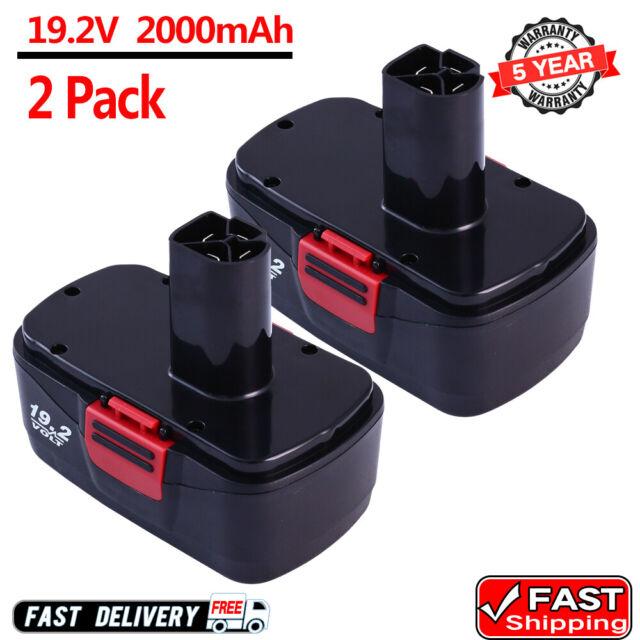 Charger 130279005 11376 For Craftsman 19.2 Volt 2.0Ah 11375 C3 DieHard Battery