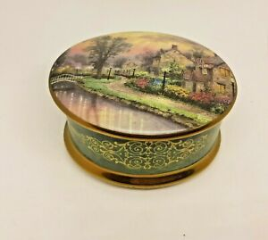 Thomas-Kinkade-Lamplight-Village-Music-Box-Lamplight-Lane-1999-VGC