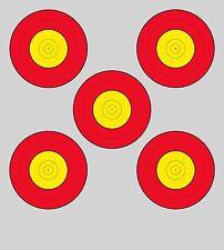 FITA Style Five Spot Vegas Archery Paper Targets - 17.5x19.5 - 43 Qty