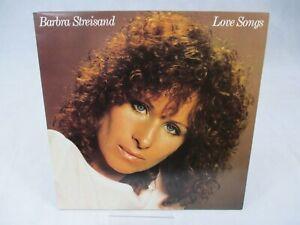 Barbra Streisand  Love Songs Vinyl LP Album CBS 10031 1981