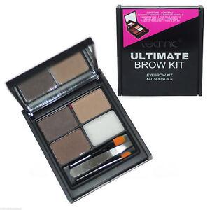 Technic-Ultimate-Ceja-Kit-polvos-cera-pinzas-Brocha-Y-Conjunto-de-maquillaje-para-cejas