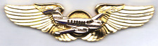 Beechcraft King Air Model F90-1 T-Tail Special Order Golden Deluxe Pilot Wings