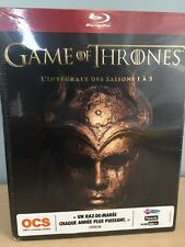 Game of Thrones Season 1-5 Blu-Ray - Region Free, NEW, French Packaging