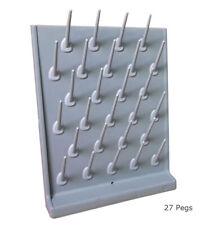 Techtongda Drying Rack 27 Pegs Detachable For Lab Use Wall Mountedtable Top
