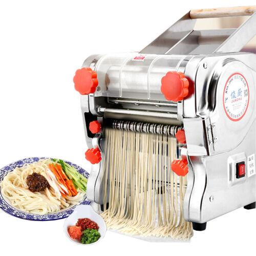 ELECTRIC PASTA Press Maker Noodle macchina in acciaio INOX casa commerciale 750W