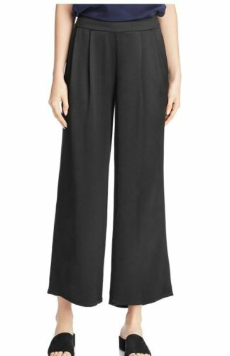 Pleated Waist Silk 6 Eileen Bukser Satin Fisher Crepe Black ECtxzwq