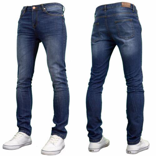 BNWT 526Jeanswear Men/'s Kato Stretch Super Skinny Ripped Jeans