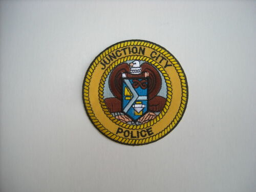 "/""New Condition/""  Junction City Kansas Police Sleeve Patch"