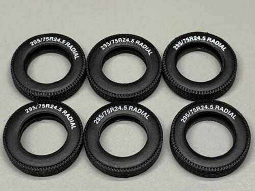 6 1//64 DCP PARTS WHITE LETTER RADIAL TIRES