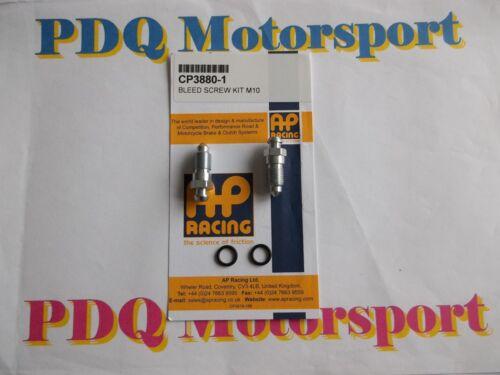 AP Racing CP7600  Brake Caliper Nipples Kit Brand New PDQ Motorsport