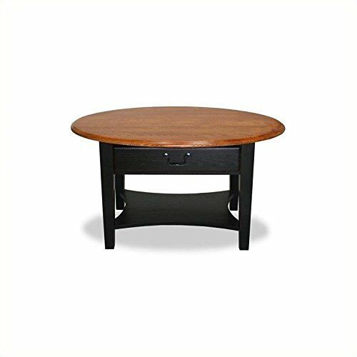 Leick Furniture 9044 Sl Slate Oval Coffee Table | EBay