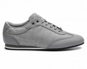 La-vendita-HUGO-BOSS-ACCENDINO-LowP-LOGO-50397587-Sneaker-Uomo-Medio-Grigio-Scarpe-Da-Ginnastica