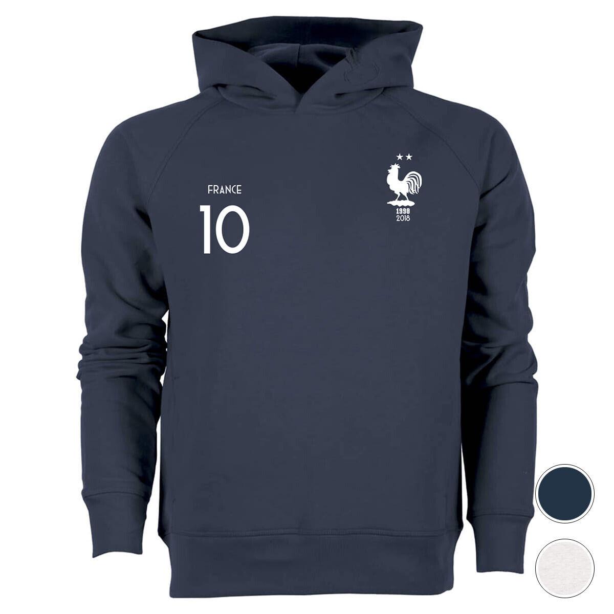 Hoodie 2 ÉTOILES 10 Mbappe    équipe de France football maillot euro 2020  precios bajos todos los dias