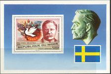 Niger 1977 Nobel Peace Prize/Bird/Dove/Peace/Politics/Roosevelt m/s ref:s128