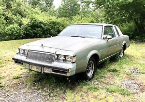 1986 Buick Regal PROJECT CAR
