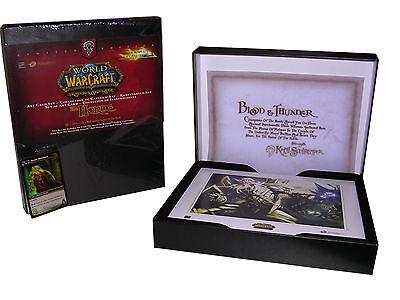 WORLD OF WARCRAFT: SET DI ART CARDS - ORDA - SET STAMPE