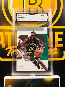 2002-Topps-Paul-Pierce-16-9-MINT-GMA-Graded-NBA-Basketball-Card