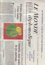 le monde diplomatique 531 - juin 1998 - mariage homosexuel -firmes geantes -
