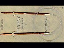 """Lantern Moon ::Rosewood Circular Needles:: 5 US 40"""""""