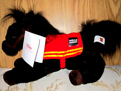 Nwt Wells Fargo 2016 Legendary Pony Mike Stuffed Animal. Collectibles