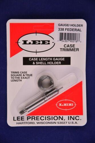 Lee Case Length Gauge /& Shell Holder 338 Federal #90218