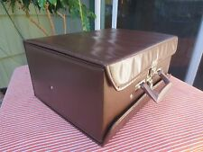 Service Mfg Cassette CL-60 Brown - Tape Carry Case Storage Portable Logic