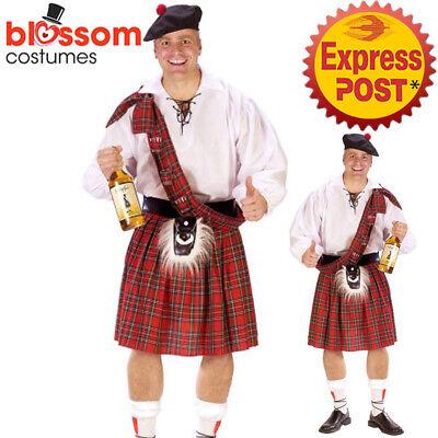 Scottish Pouch Highlander Bag Fancy Dress Up Halloween Costume Accessory