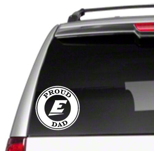 "EKU Dad 5.5/"" Car Vinyl Sticker Decal university eastern of proud kentucky *B47*"