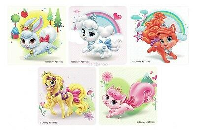 15 Disney Princess Palace Pets Stickers Party Goody Loot Bag Filler Favor Supply