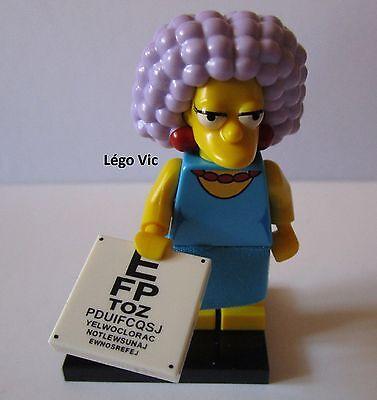 """fiche Légo 71009 Minifig Figurine The Simpson 2 /""""Milhouse/"""" socle"""