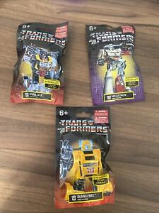 Lot of 3 NEW Transformers Limited Edition Mini Figs Grimlock Megateon Bumblebee