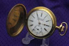 Antique J. ULLMANN & Co Chaux-De-Fonds Quarter Repeater Gold Filled Pocket watch