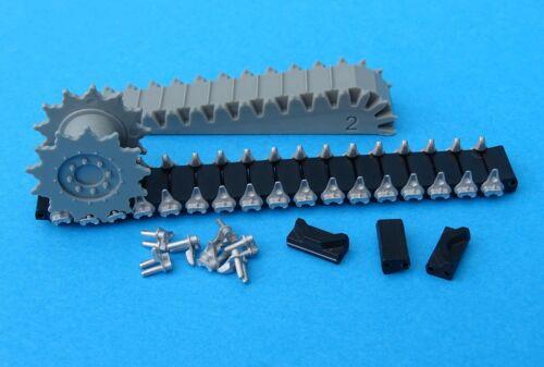 T48 type 1//35 MasterClub MTL35122 Metal Tracks for M4 Sherman RAM M3
