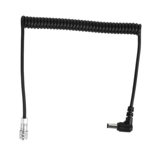 DC Bending Type Power Cable for BMPCC Blackmagic Pocket Cinema Camera 4K UK